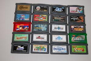 Nintendo-Game-Boy-advance-japan-lot-of-20-games-pokemon-and-more