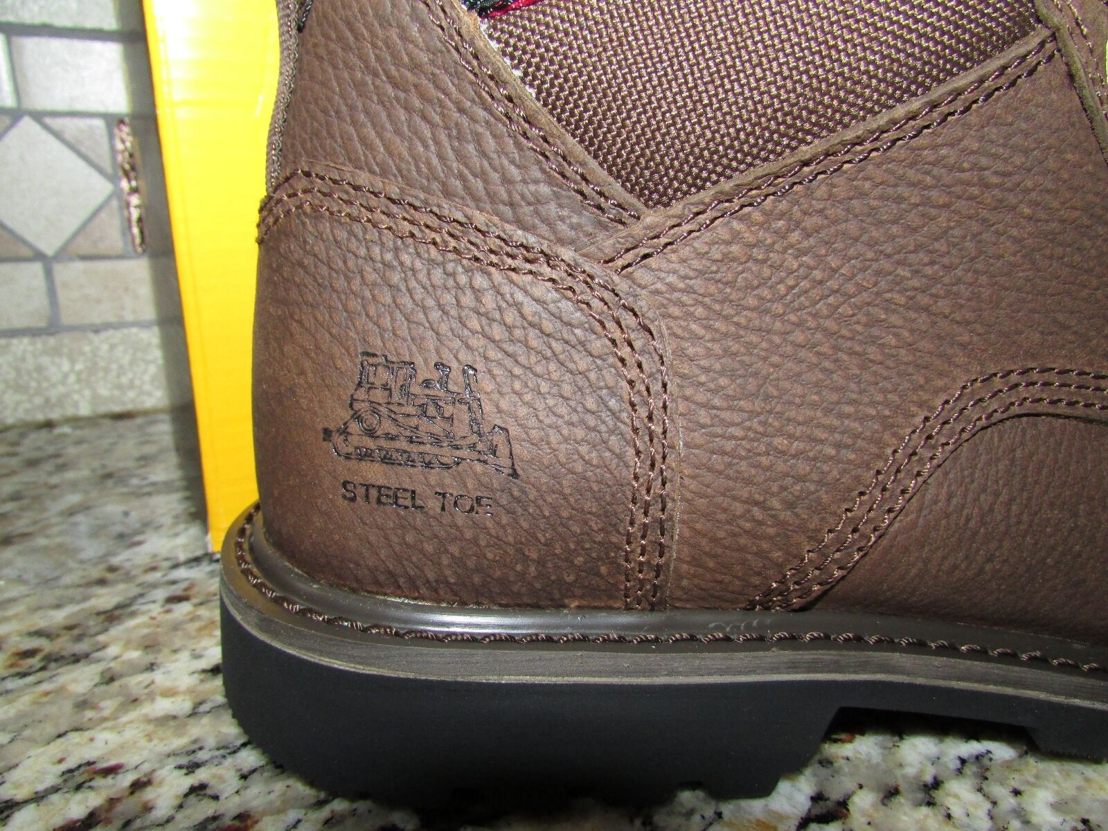 NEW CATERPILLAR CAT STEEL TOE WORK WORK WORK BOOTS Uomo 9.5 STYLE: ELECTRIC BROWN 0d3d9c
