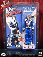 Evel Knievel; 12 Inch Action Figure;blue Jumpsuit & Helmut,figures Toy Co Mosc