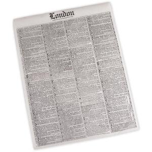 50 sheets newsprint deli wrap paper 16 x12 wax paper party supplies