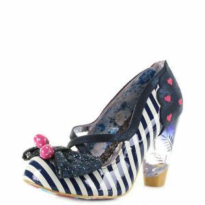 Irregular Choice Wanderlust C Black High Heel Shoes