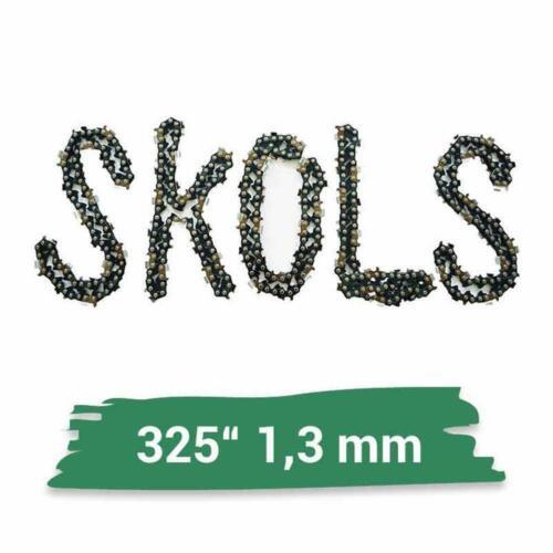 "Sägekette 50cm 78TG Halbmeißel Ersatzkette Kettensäge .325/"" 1,3 mm .050/"""