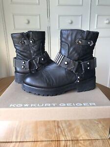 Kurt Geiger Biker Boots | eBay