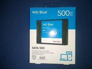 Wd - Blue 500gb internal sata solid state drive