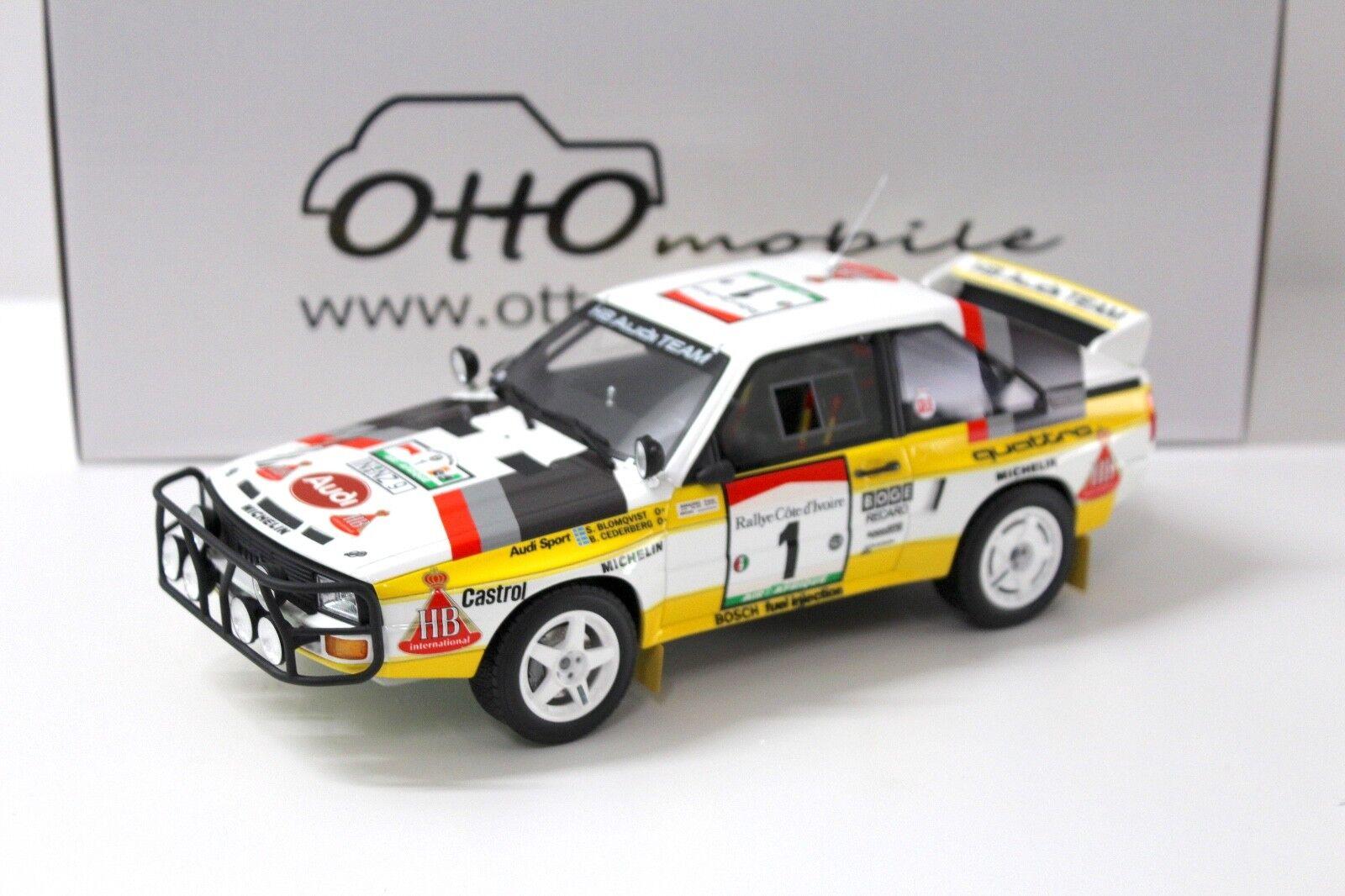 molte concessioni 1 18 otto AUDI SPORT QUATTRO Safari 1984 1984 1984 Blomqvist nuovo in Premium-modelloautoS  miglior prezzo migliore