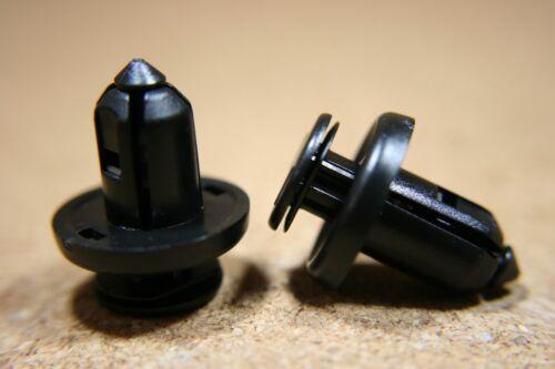 For Honda 10 bumper fender fascia trim panel push type fastener plastic clips