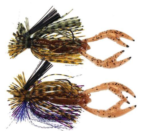 Stanley 2Pk Finesse Jig1//8 PMP//grnch Pêche-équipement FSR218-6469 NOUVEAU