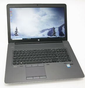 HP ZBook 17 G3 Laptop: Xeon, M5000M, 64GB RAM, 1TB SSD, Warranty