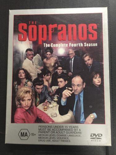 1 of 1 - Sopranos - The Complete Fourth Season, The, 2005  James Gandolfini DVD -Region 4