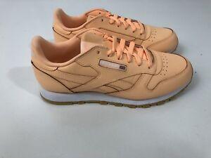 New Original Men/'s Classic Leather Sneaker Shoes Reebok Retro CLSG Milk Shake sz