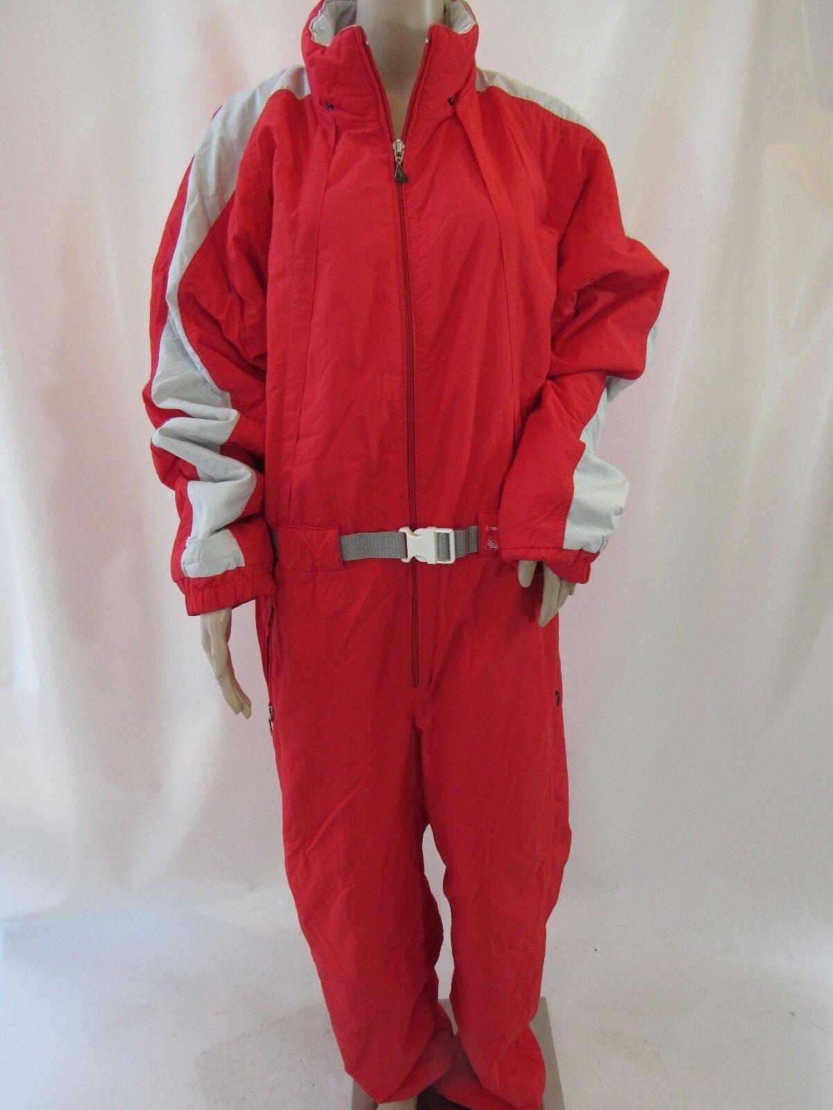 Luhta World Cup Coupe de Monde Red Alpine Ski Suit Size 44