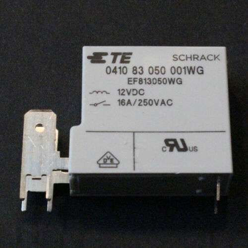 0410 83 050 001WG NEU SCHRACK TE 12VDC  250VAC 16A 2pcs. 2 STK