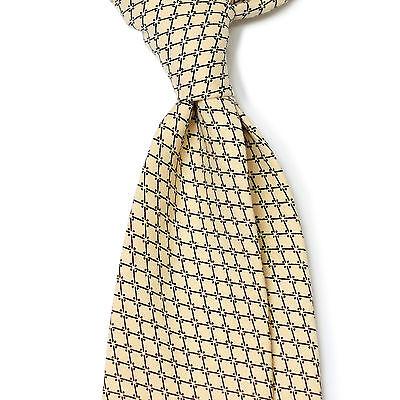 Untipped, Unlined Difou Check Printed Cotton  Sfoderato Creator Tie