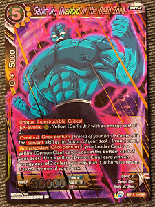 Garlic Jr Overlord Of The Dead Zone Bt11 104 Sr Dragon Ball Super Tcg Nm Ebay His father was imprisoned by kami in the realm of darkness, leaving garlic jr. details about garlic jr overlord of the dead zone bt11 104 sr dragon ball super tcg nm