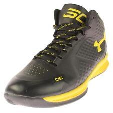 Under Armour 3146 Mens Black Athletic Shoes Sneakers 8.5 Medium (D) BHFO