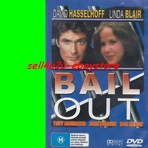 DVD-BAIL-OUT-David-Hasselhoff-Linda-Blair-1989-Action-ALL-REGIONS-PAL-VG