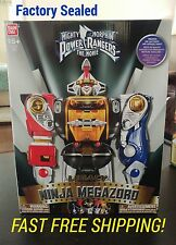 NIB Power Rangers Mighty Morphin Legacy The Movie Ninja Megazord