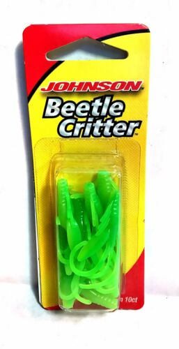Berkley Johnson Beetle Critter Green Chartreuse