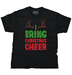 a3cb80857 Image is loading Bring-Cheer-Reindeer-Ugly-Christmas-Sweater-Funny-Gift-