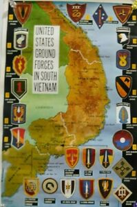11x16-ARMY-MARINES-NAVY-GROUND-FORCES-IN-SOUTH-VIETNAM-POSTER-PRINT-AIRBORNE-WAR