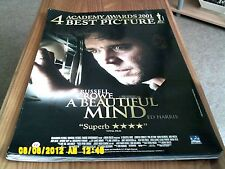 A Beautiful Mind (russel crowe) Movie Poster A2