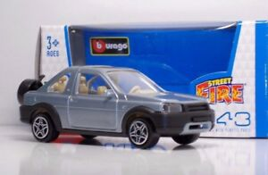 Bburago-30000-Land-Rover-Freelander-Pick-Up-034-Silver-Blue-034-METAL-1-43