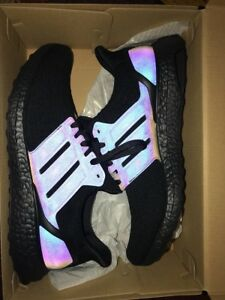 e9042b688 Image is loading Adidas-MiAdidas-Xeno-UltraBoost-Triple-Black-Ultra-Boost-