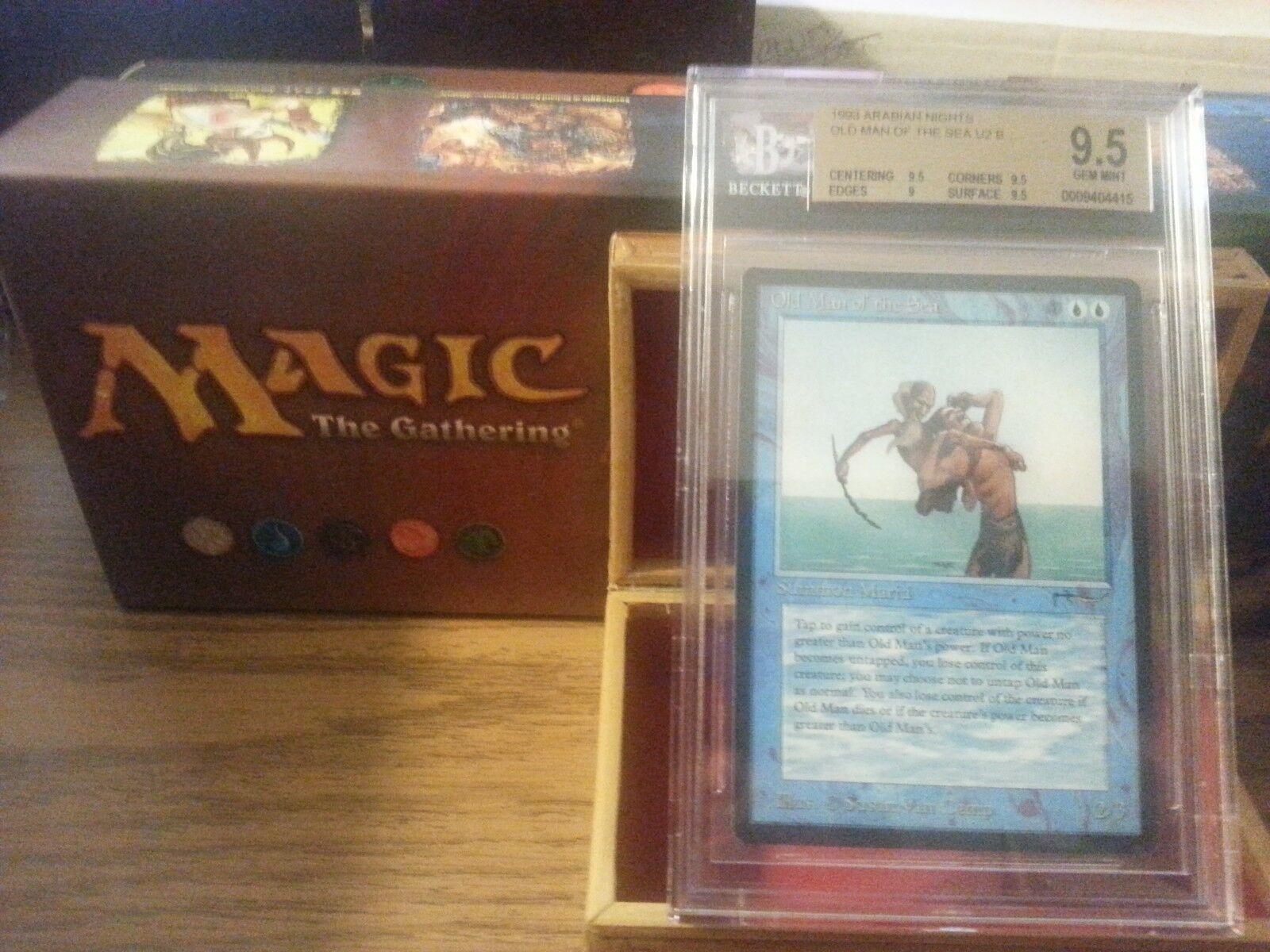 Arabian Nights Old Man of The Sea BGS 9.5 Gem Mint Magic The Gathering MTG 1993