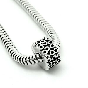 SWIRL-CLIP-Serpentine-Hinged-stopper-Lock-Solid-925-sterling-silver-charm-bead