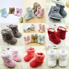 Newborn Toddler Baby Snow Booties Soft Sole Warm Baby Boots Crib Shoes 0-18M