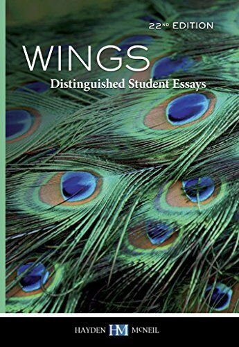 wings distinguished student essays by Hayden McNeil | eBay