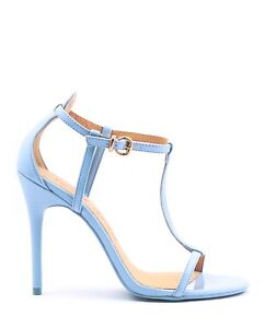 5927e51ce2828 Image is loading NEW-CHINESE-LAUNDRY-STILETTO-T-STRAP-SANDAL-LEO