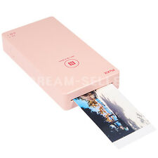 Fujifilm Smart Phone Photo Printer PICKIT M1 (Pink) + Cartridge Paper 20 Sheets