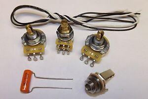 jazz bass guitar wiring kit with blend setup cts 250k pots ... jazz bass wiring kit fender american jazz bass wiring diagram #5