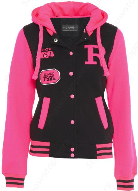 NEW GIRLS JACKET COAT HOODEI FLEECE Girls CLOTHING AGE 7 8 9 10 11 12 13 PINK