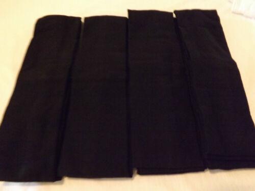 6 pcs Headbands Stretch Colors Black.