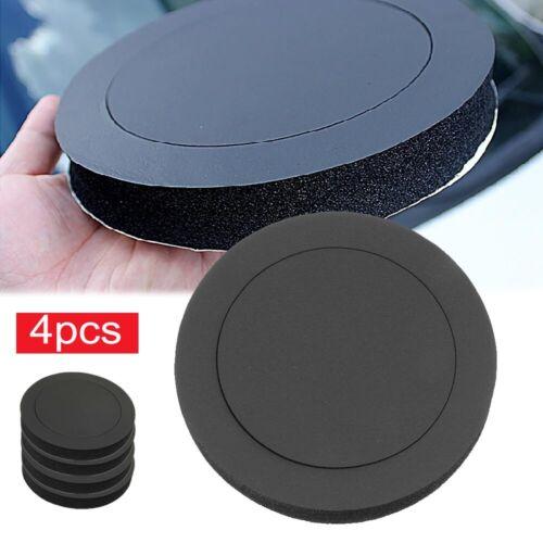 """4x 6.5/"""" Car Speaker Sound Insulation Cotton Ring Bass Door Trim SY"""