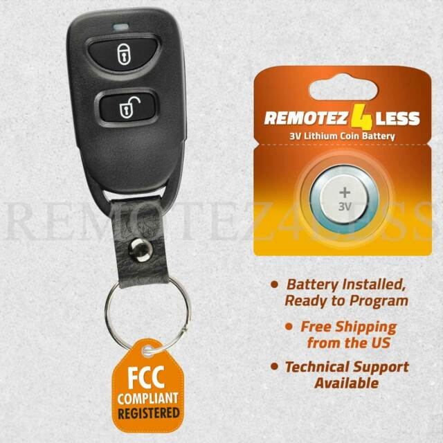 For 2007 2008 2009 2010 2011 2012 Hyundai Santa Fe Keyless Car Remote Key Fob