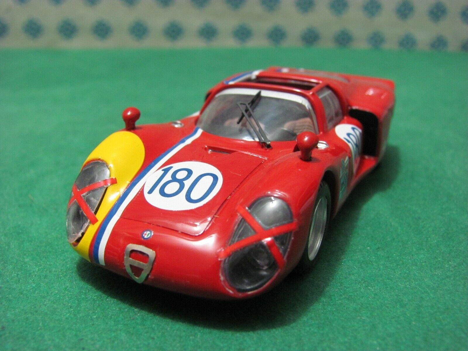 ALFA ROMEO 33  2 Spyder 2000cc.Daytona   Targa Florio 1968  - 1 43 Best 9390 LE  prix de gros et qualité fiable