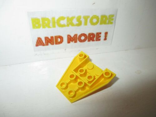 1x Wedge 4x4 triple inverted coque 4855 Yellow//Jaune//Gelb Lego