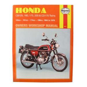 image is loading workshop-manual-honda-cb125-70-71-cb200-74-