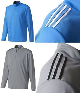 Adidas-Golf-3-Stripes-French-Terry-1-4-Zip-Pullover-M-L-XL-OR-XXL-RRP-50