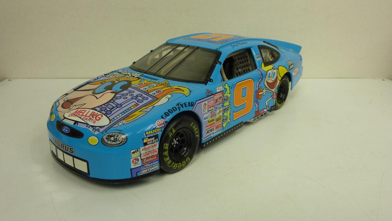 auténtico Acción racing 1 18 Ford Ford Ford Taurus NASCoche Cochetoon Network 1999  9 sin VP (a1751)  el mas reciente