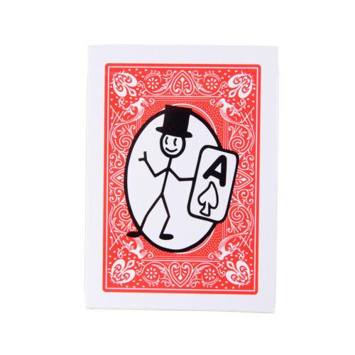 Magic prop Cartoon Deckpackung Spielkarte Animation Vorhersage ZaubertrickR*jg
