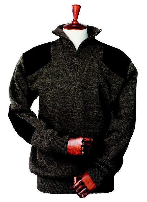 Laksen Wood Sweater - Dark Brown 2XL