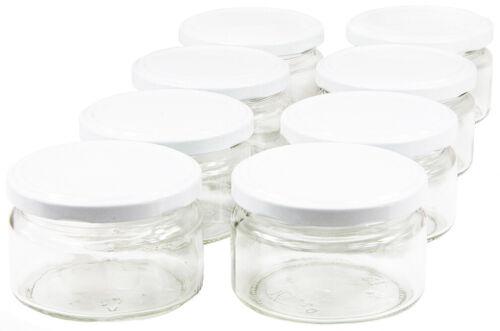 200ml Einweckgläser mit Deckel To82 Einmachgläser Vorratsgläser Einmachglas Weck