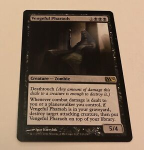 Vengeful Pharaoh Magic 2012 Rare EN NM MTG