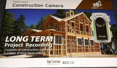 Brinno Construction Time Lapse Camera Kit  BCC100 New Sealed Box