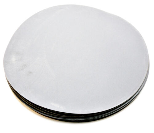 """LOT OF 50 12/"""" 320 GRIT SILICON CARBIDE WET//DRY SANDING DISC"""