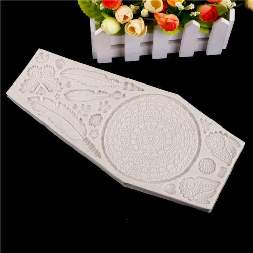 Dreamcatcher Silicone fondant mold cake decorating tools chocolate gumpastem MWC